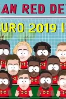 """Les 23 Diablotins pour l'Euro version South Park: l'annonce """"géniale"""" de l'Union belge"""