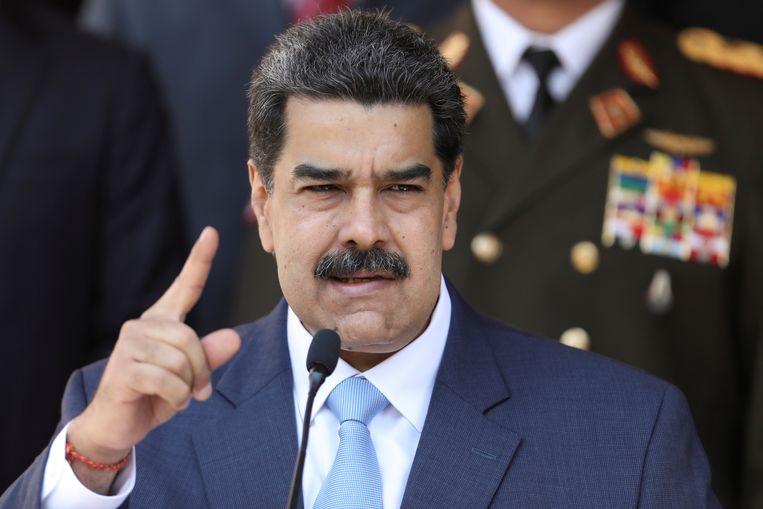 De Venezolaanse president Nicolas Maduro Beeld Reuters