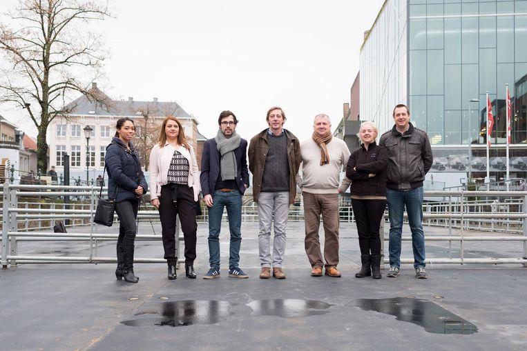 """""""De schaatsbaan wordt de attractie deze winter"""", weet mmMechelen-Feest-voorzitter Kristof Calvo."""