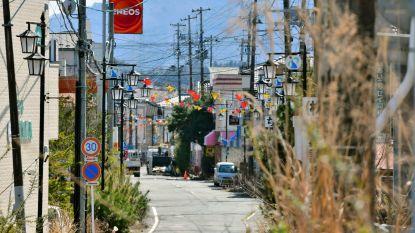 Acht jaar na kernramp Fukushima mogen geëvacueerde bewoners stad weer in