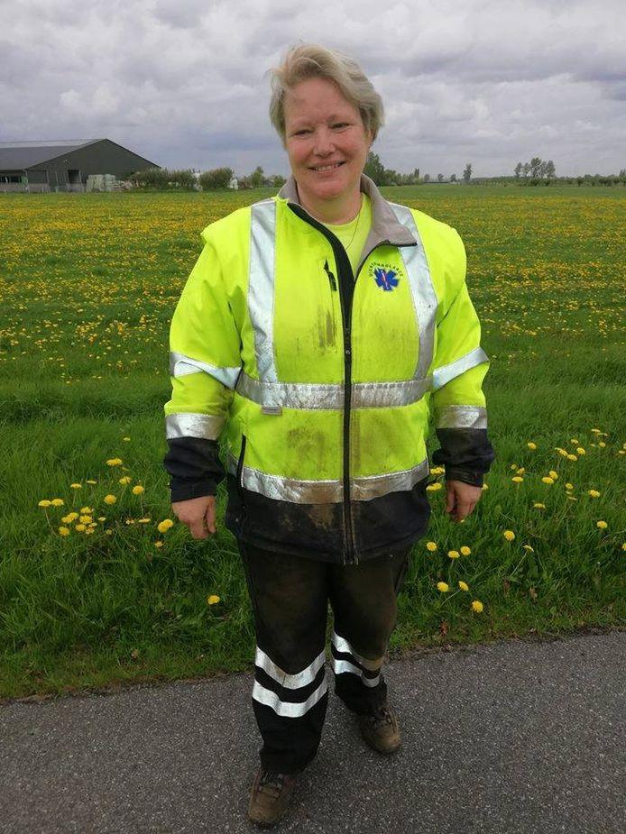 Heldin Helga van de Stichting Dierenambulance Doetinchem/Winterswijk.