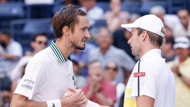 Medvedev maakt einde aan sprookje Van de Zandschulp op US Open