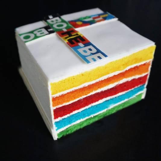 De Sing-Along cake