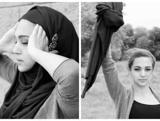 Strafbaar en dus heel moedig: Iraanse vrouwen gooien hun hoofddoek af