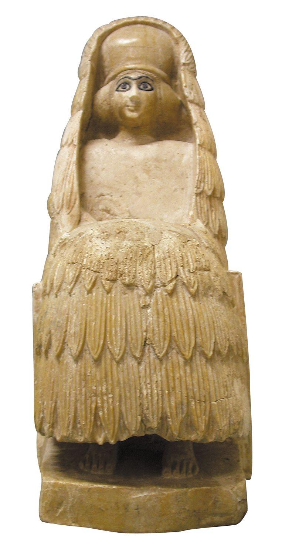 Sculptuur uit Syrië (6de eeuw v. Chr.) Beeld ICOM