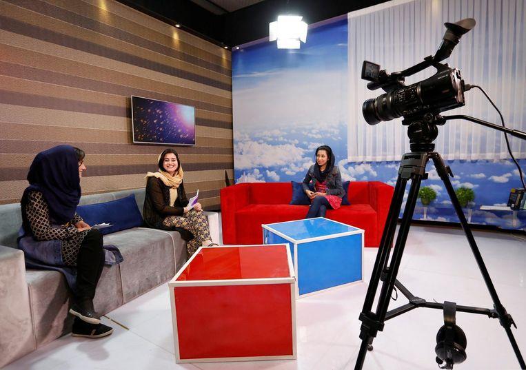 Zan Tv, Kabul, Afghanistan Beeld Reuters