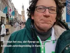 GroenLinks en D66 flyeren door tot 't bittere eind