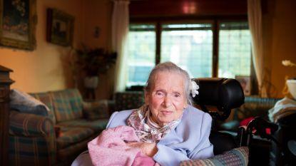 104-jarige Berta houdt niet van klagen