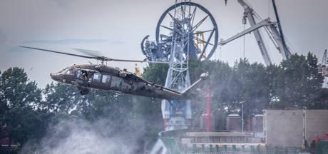 Bijzonder: ronkende Amerikaanse heli's in de Waalhaven
