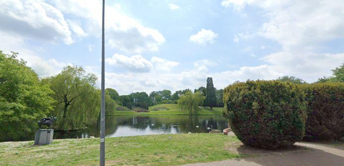 De vijver van park Lapersveld