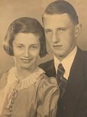 Edith met haar broer Wolfgang