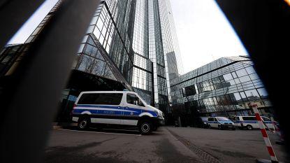 170 speurders vallen binnen bij hoofdzetel Deutsche Bank