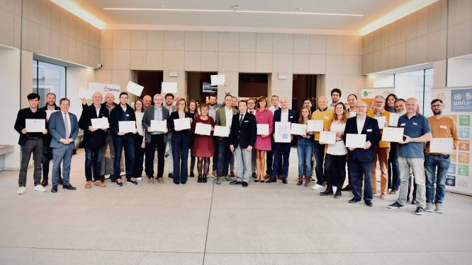 Zes bedrijven gevierd als 'SDG Pioneer'