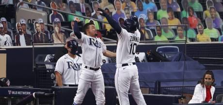 Tampa Bay herstelt zich net op tijd en plaatst zich als eerste voor World Series