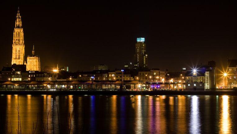 Antwerp by night Beeld Thinkstock