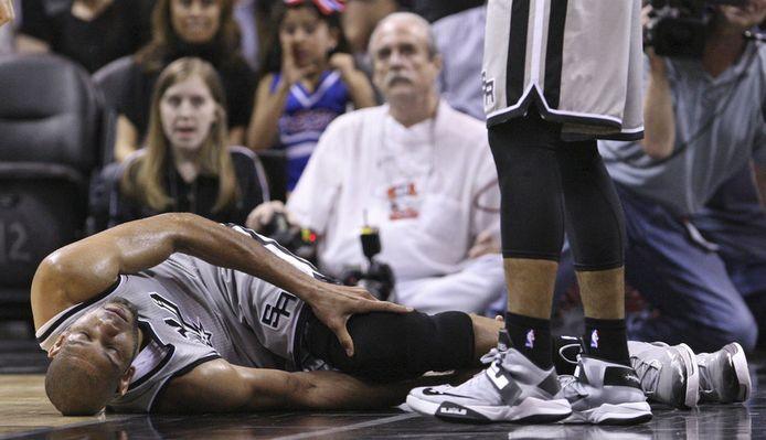 Duncan viel uit met een knieblessure.