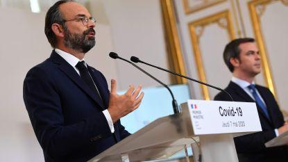 Franse premier bevestigt geleidelijke versoepeling maatregelen vanaf 11 mei, grensbeperkingen voor andere EU-landen tot minstens 15 juni