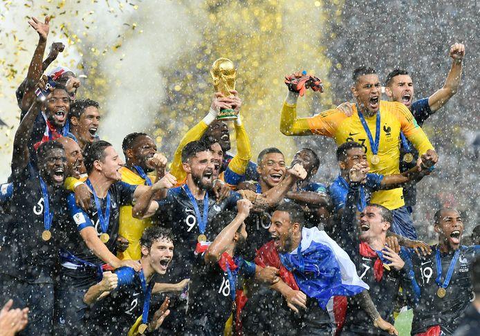 Frankrijk kroonde zich in Rusland tot wereldkampioen.