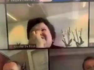 Quand Maggie De Block se cure le nez en Commission par vidéo-conférence