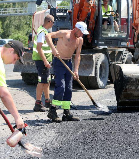 """Un ouvrier de la Ville de Fleurus renversé par une auto: """"Sous le choc"""""""