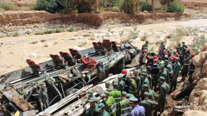 17 doden en 30 gewonden bij ongeval met bus in Marokko