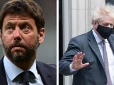 Andrea Agnelli charge Boris Johnson pour le retrait des clubs anglais