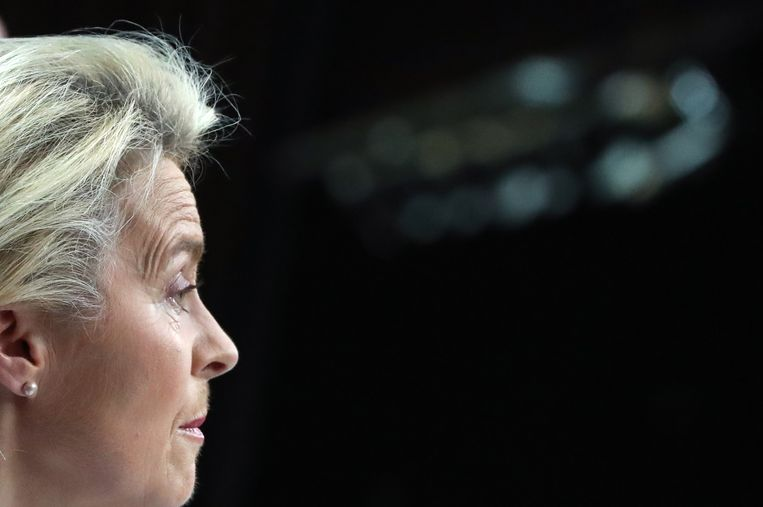 EU-commissievoorzitter Ursula von der Leyen.  Beeld EPA