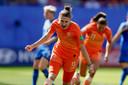 Vivianne Miedema zette Oranje op 1-0 tegen Italië.