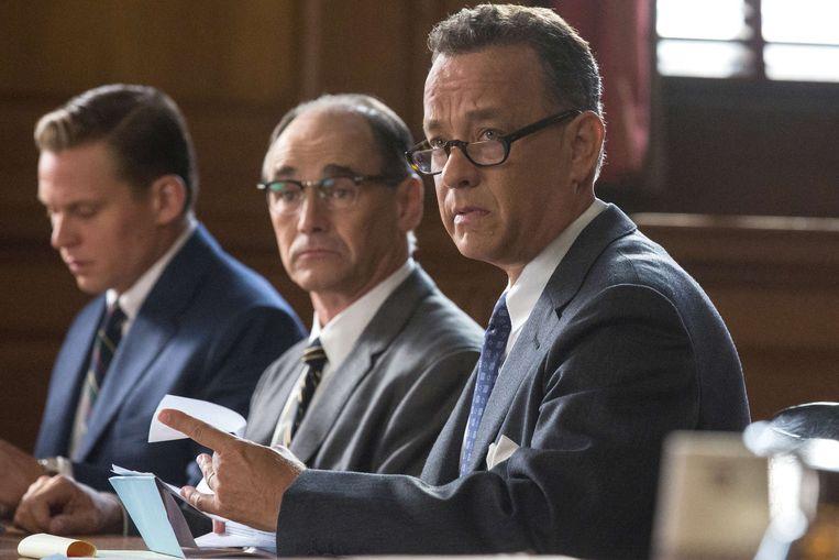 Tom Hanks als advocaat James Donovan. Beeld Belgaimage