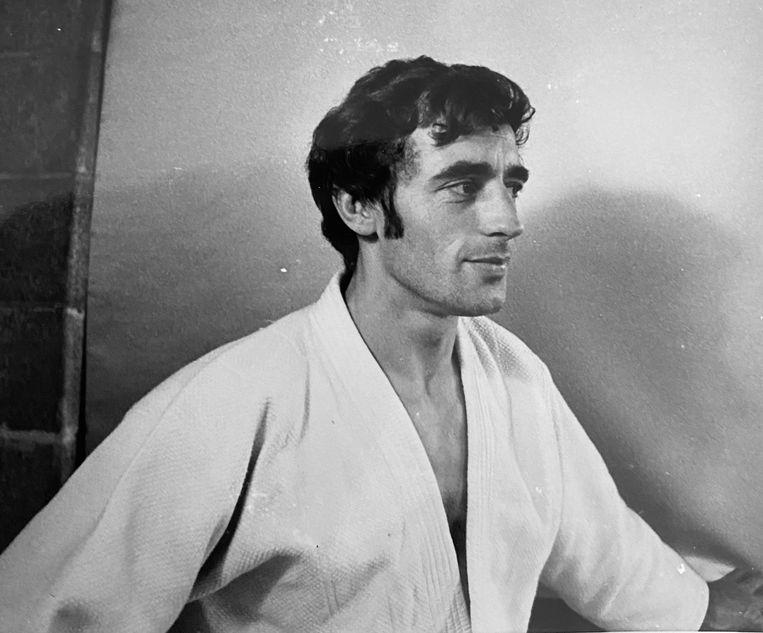 Judoka John Philips. Beeld -