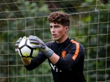 Trainingsstage voor doelman Van Lare met Oranje onder 17