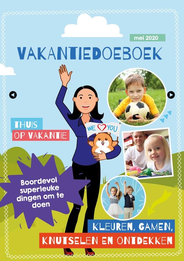 De cover van het digitale vakantiedoeboek.