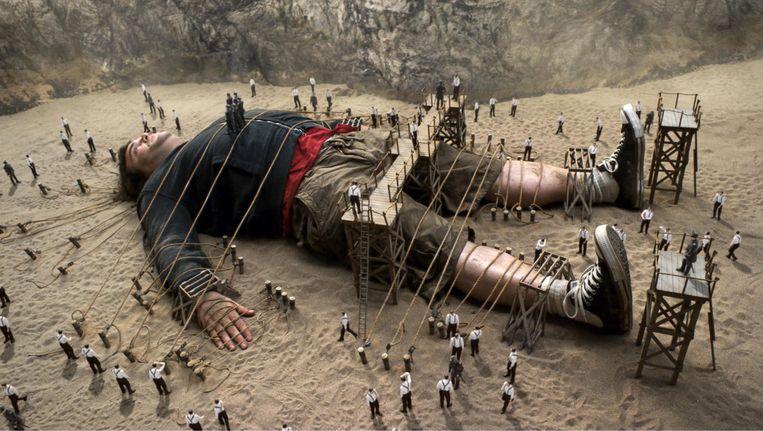 Een beeld uit Gullivers Travels, 20th Century Fox, 2010. Beeld null