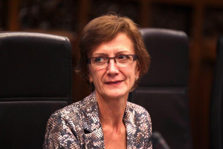 Volgens Martine De Regge (sp.a) zijn die reusachtige raden van bestuur onvermijdelijk. Beeld BELGA
