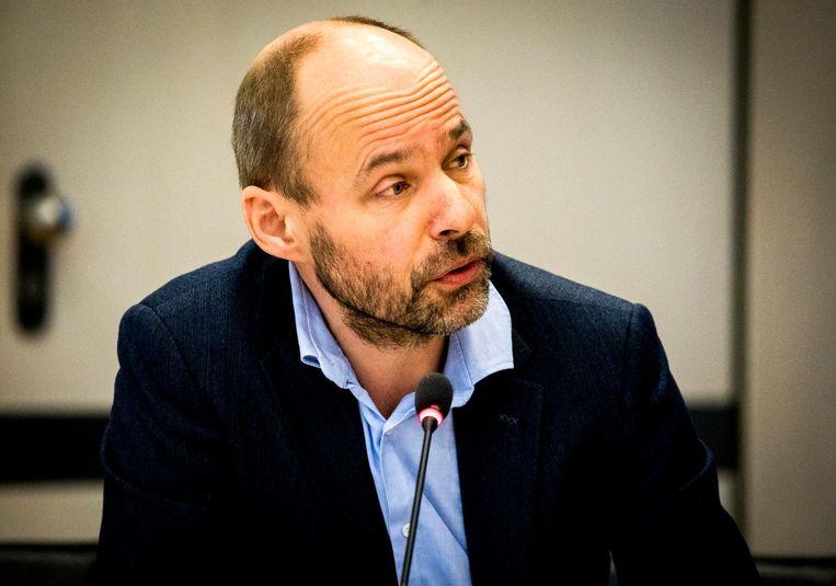 Thomas Bruning, algemeen secretaris van de Nederlandse Vereniging van Journalisten.  Beeld anp