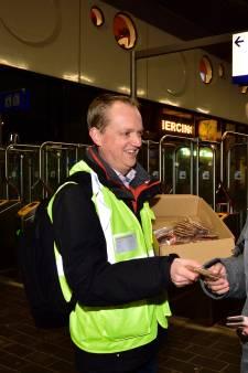 Stroopwafel voor treinreizigers Gouda – Alphen