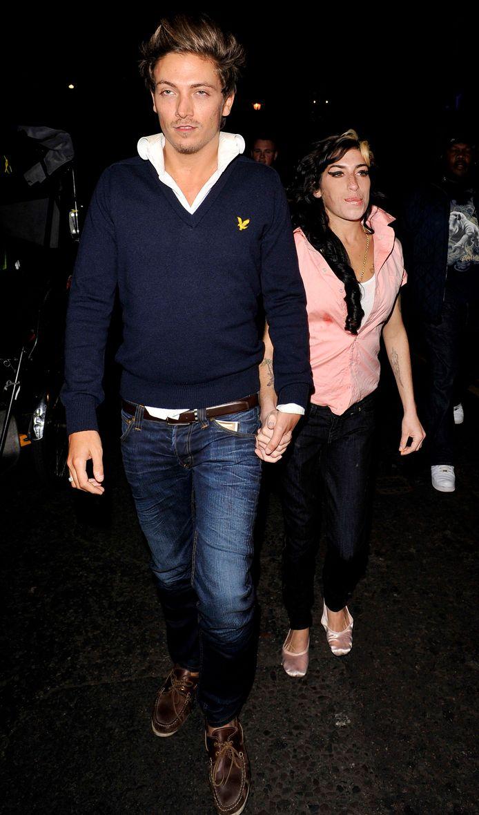 Tyler James en Amy Winehouse