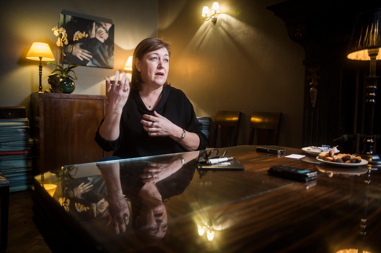 Advocate Kati Verstrepen. Beeld Karel Duerinckx