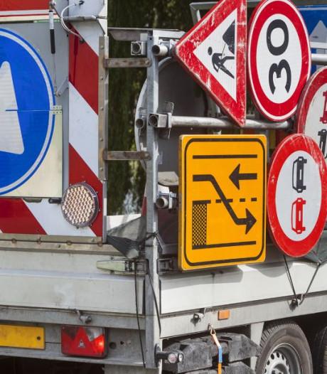 Kruising Larserweg en Gooiseweg weekend dicht