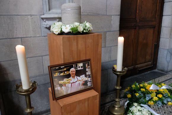 De urne van Jean-Pierre.