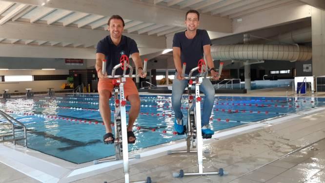 Nieuw sportseizoen in sport- en recreatiebad De Kouter: 11 aquabikes, zwemacademie en opnieuw baantjes trekken