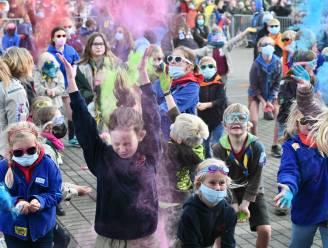 Jeugd zorgt op Colour Festival voor kleurrijke Dag van de Jeugdbeweging