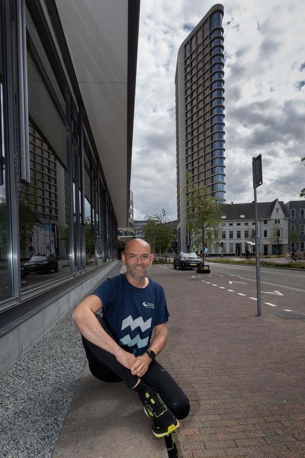 Scheidend directeur Edgar de Veer van de Marathon Eindhoven.