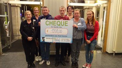 1.200 euro voor actie Rudi Vranckx