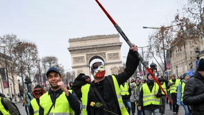 LIVE. 60 arrestaties bij nieuw protest 'gele hesjes' in Frankrijk, vrees voor rellen