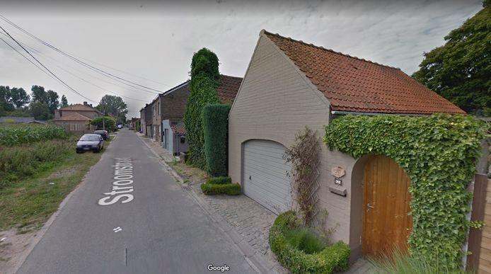 Stroomstraat in Evergem