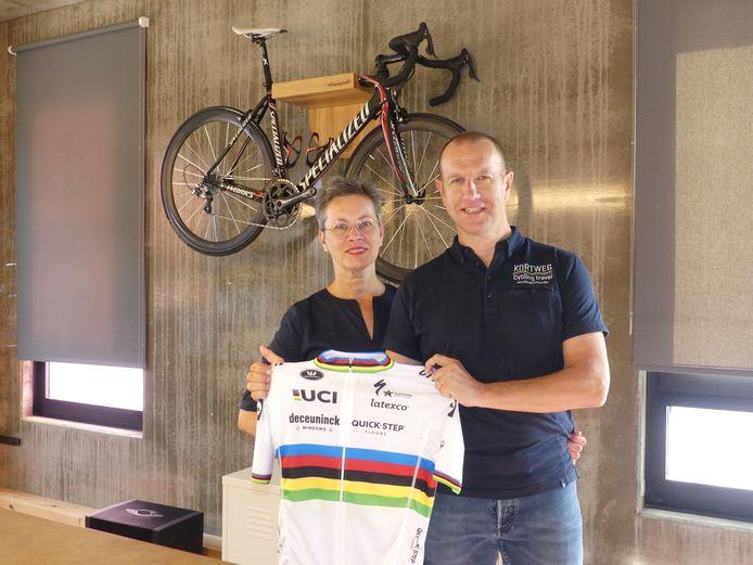 Yannic Demeyer en Jan Almeye van Kortweg Cycling Travel.