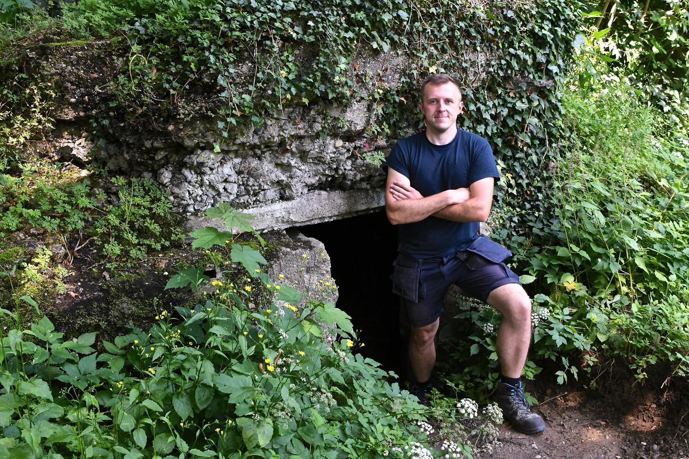 Tijdens de herfst zal het mogelijk zijn om er te eten in een …bunker uit de Eerste Wereldoorlog.