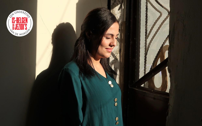 De 18-jarige Wadha zat in gevangenschap bij een Belgische jihadist. Beeld Brenda Stoter Boscolo