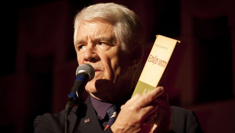 Kees van Kooten vertelt over het boek Eendjes Voeren als ode aan Remco Campert. (Archieffoto) Beeld anp